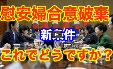【動画】韓国が慰安婦合意の破棄を正式に宣言。恐るべき新条件を突きつけてくる可能性が浮上する! [嫌韓ちゃんねる ~日本の未来のために~ 記事No17627