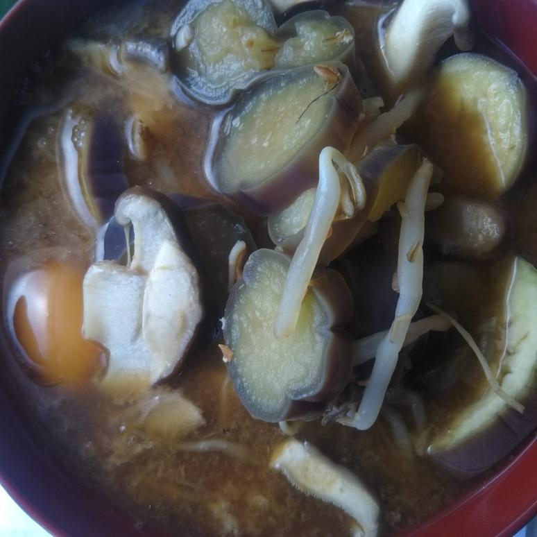 Soup with shiitake mushroom 20170929