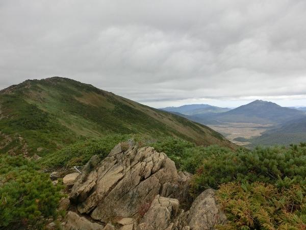 燧ケ岳と至仏山