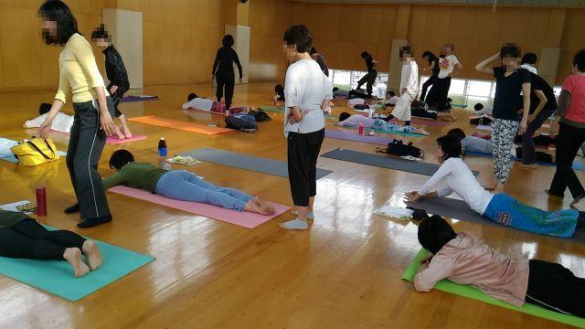 2017/10/1(日)yoga WS3 山本先生