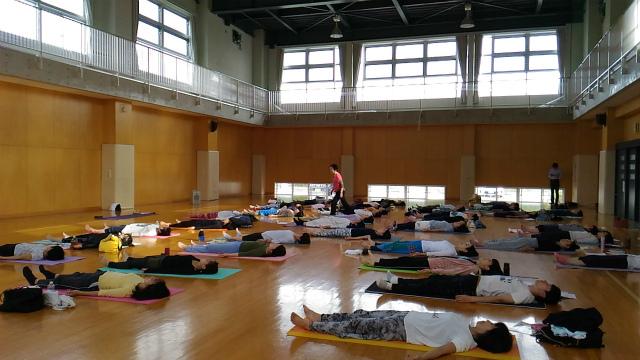 2017/10/1(日)yoga WS4 山本先生