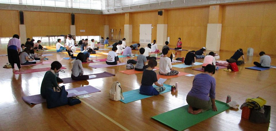 2017/10/1(日)yoga WS1 山本先生