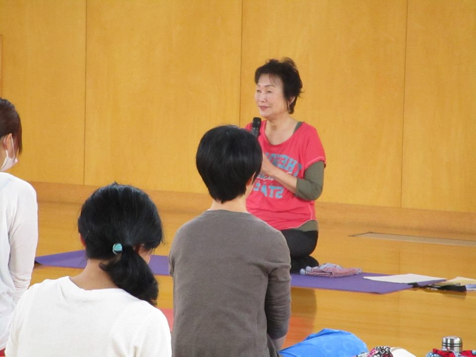 2017/10/1(日)yoga WS2 山本先生