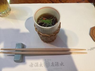 170620貴船右源太川床料理貝柱の吸物