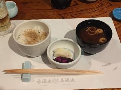 170620貴船右源太川床料理ごはんと赤出汁