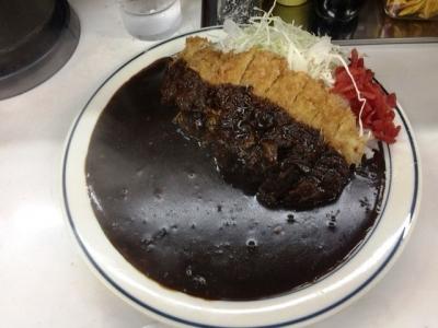 170627キッチン南海 神保町店カツカレー750円