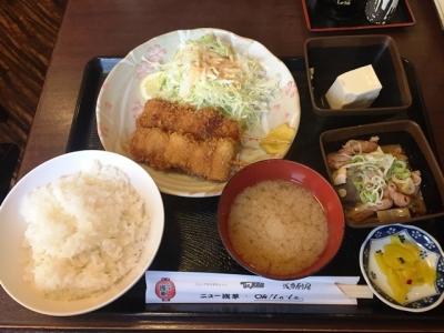 170711ニュー浅草本店浅草定食720円