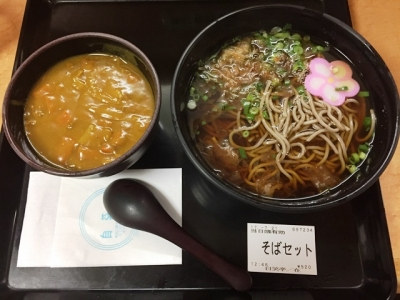 170721自笑亭ミニカレー丼セット520円