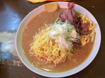 170731宝楽冷麺定食800円冷麺