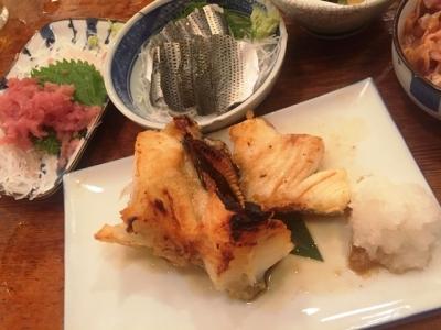 170801魚三酒場富岡店銀めろかま焼580円