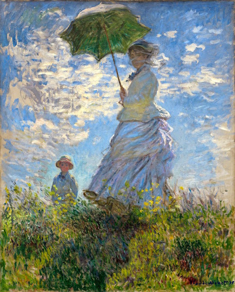 W 381 Woman_with_a_Parasol Madame_Monet_and_Her_Son gap L