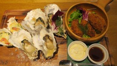 4種類の牡蠣づくしコンボ@1,980円