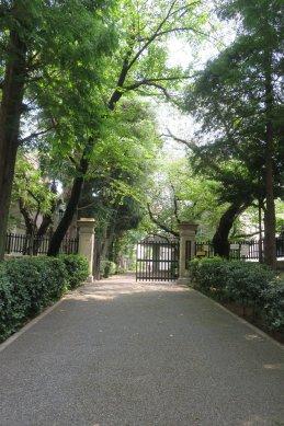 小石川三井家跡(現・第三中学校)
