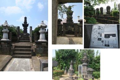 伝通院・墓