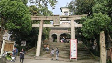 尾山神社・鳥居