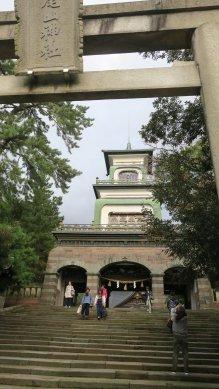 尾山神社・山門