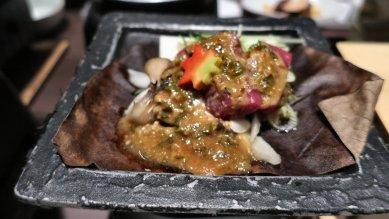 台物(牛朴葉焼)