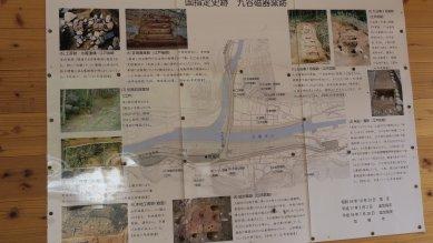 九谷磁器窯跡説明図