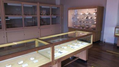 須恵器など出土品の展示館