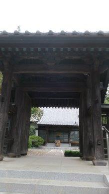 法泉寺・山門