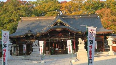立川諏訪神社社殿