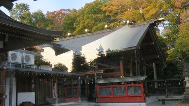 立川諏訪神社・本殿