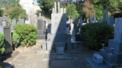 板谷波山の墓