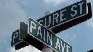 pleasure St & pain Ave