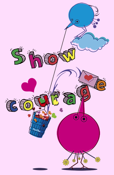 5.Show courage
