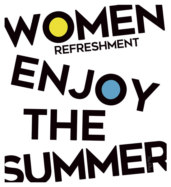 6.Women enjoy the summer正
