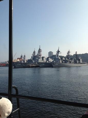 横須賀軍艦巡りイージス艦