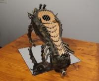 竜の頭の形をしたリラ()楽器a_1