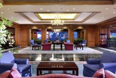 椿山荘ホテルロビー