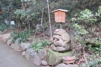 椿山荘の七福神(恵比寿)の一つ