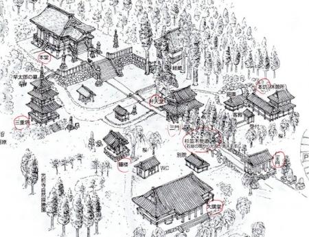 光前寺境内案内図_1
