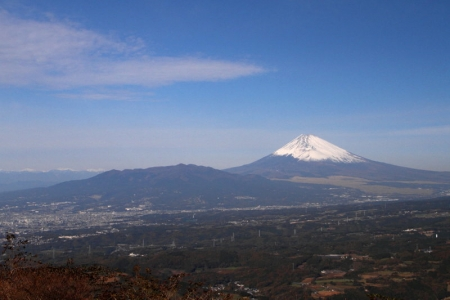 伊豆スカイラインからの富士山_1