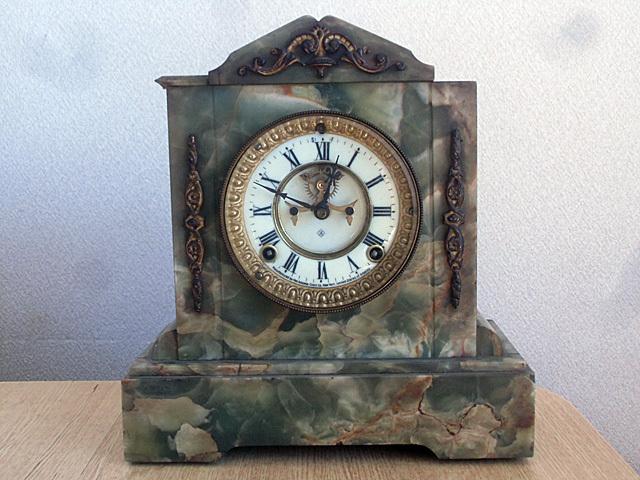 1-もらった大理石時計