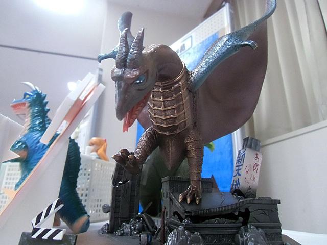 めずらしい怪獣展示