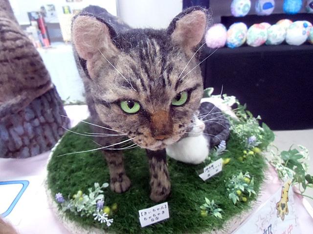精巧にできたネコちゃん