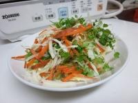 ぺんぺん草サラダ