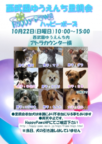 171022西武園dog