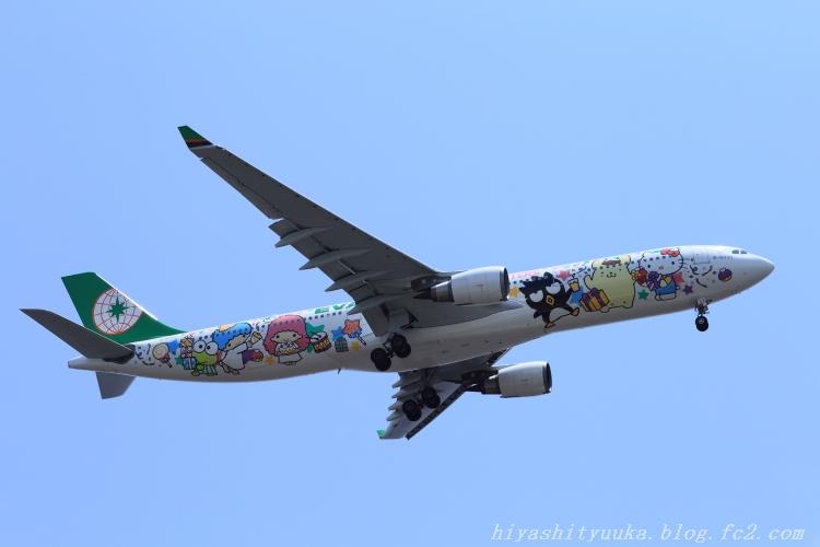 エバー航空 パーティージェット-SN