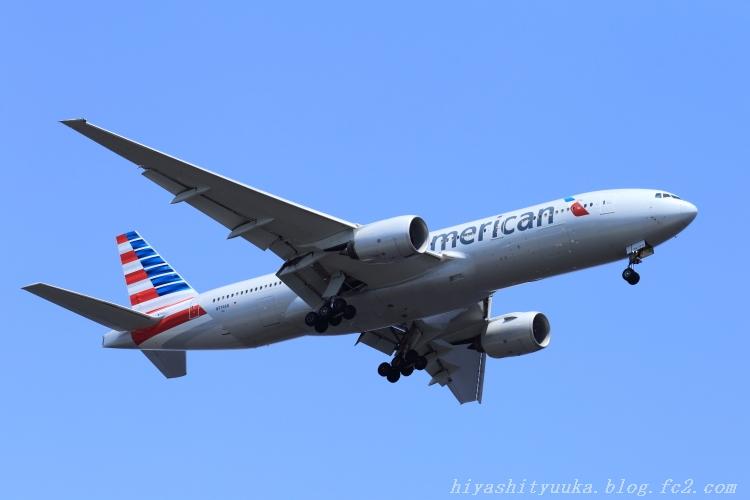 アメリカン航空 B777-SN