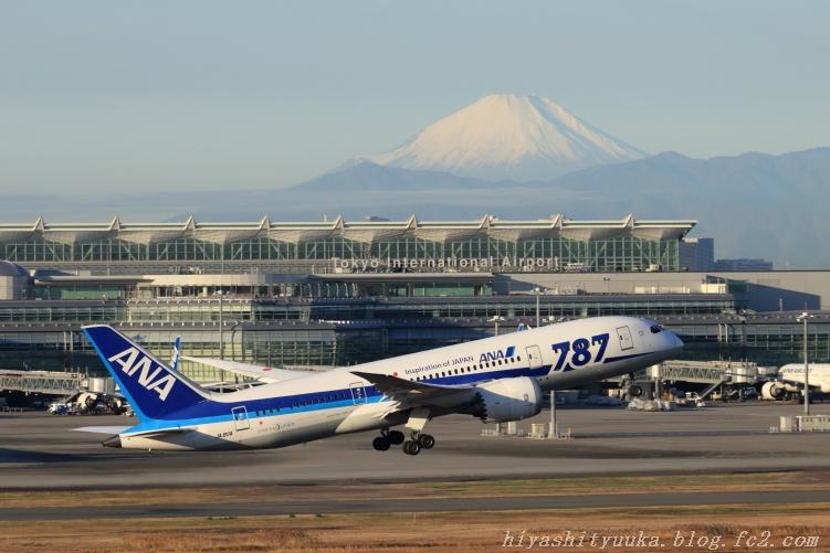 B787&富士山-SN