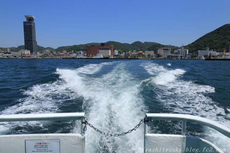 海上から門司港-SN