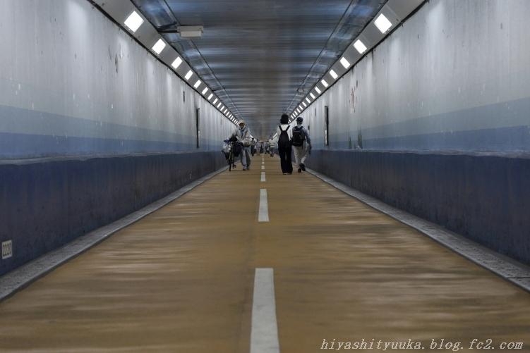 関門トンネル人道入口 スタート-SN