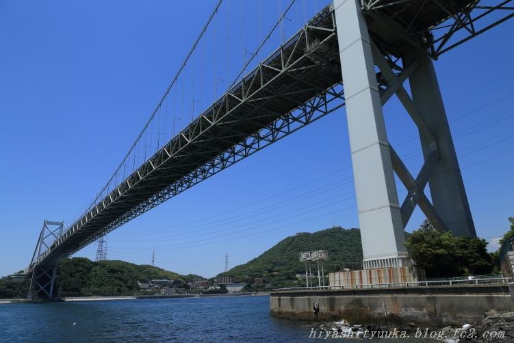関門橋 福岡側-SN