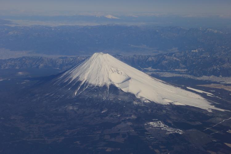 富士山上空-S