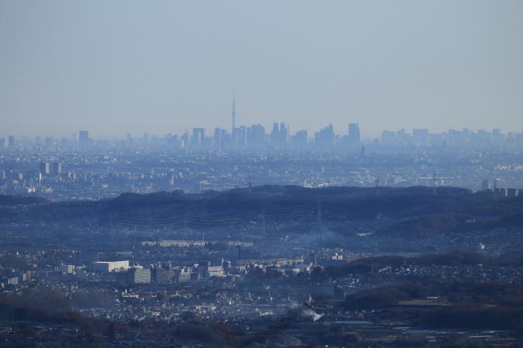東京スカイツリー&新宿方向-S