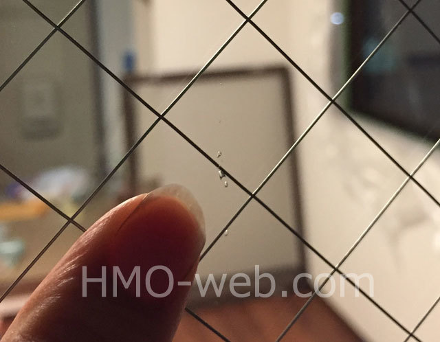 ガラスの気泡